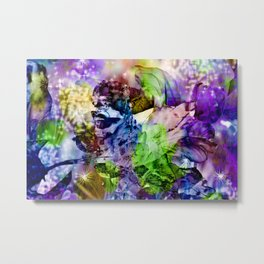 Oriental Dream of Beauty Metal Print