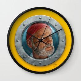 Steve Zissou Wall Clock