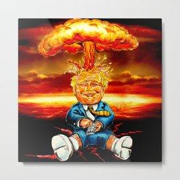 Trump bomb Metal Print