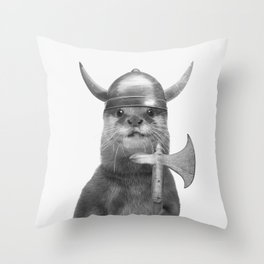 FLOKI Throw Pillow