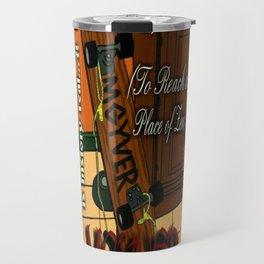 Power Hustle (To Reach a Place of Zen) artwork Travel Mug