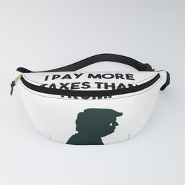 Taxes, Trump, and Tears Fanny Pack