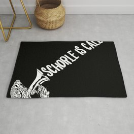 Spritzer is Calling Design Palatinate dialect Schobbe glass Dubbe Rug