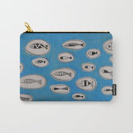 Sea of bubbles with fish / Mar de bombolles amb peixos Carry-All Pouch