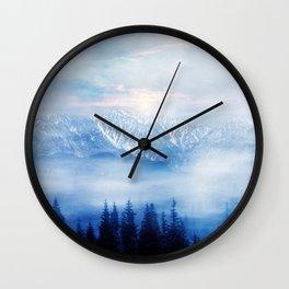Pastel vibes 48 Wall Clock