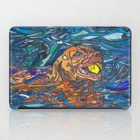 best friend iPad Cases featuring Man's Best Friend by Juliana Kroscen