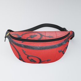 Hinge on a Red Door Fanny Pack