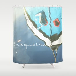 O barqueiro Shower Curtain