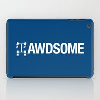 audi iPad Cases featuring AWDSOME v5 HQvector by Vehicle