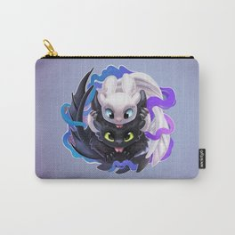 Dragon Black White Carry-All Pouch
