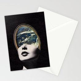 World in your mind Stationery Cards