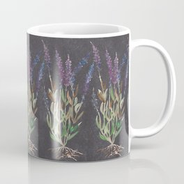 Lavandula dark blackground Coffee Mug