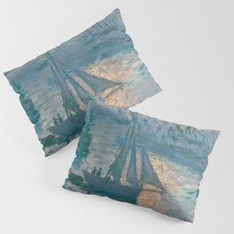 Sunrise Marine by Claude Monet, 1873 Pillow Sham
