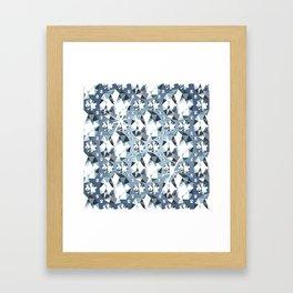 Diamonds are for Ever Framed Art Print