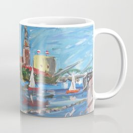 Expression Rīga, Latvia Coffee Mug
