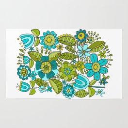Botanical Doodles Rug