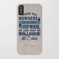 kerouac iPhone & iPod Cases featuring Kerouac  by Matt Smiroldo