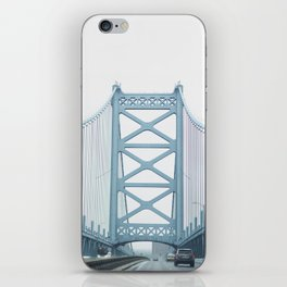 The Ben Franklin Bridge iPhone Skin