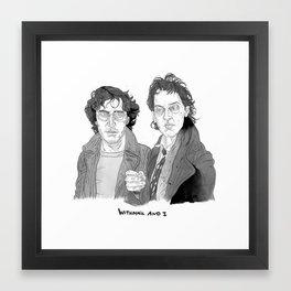 Withnail and I Framed Art Print