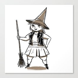 Witchster Canvas Print