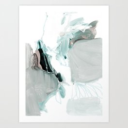 abstract painting XX Art Print