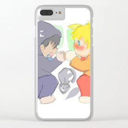 chiby yaoi Clear iPhone Case