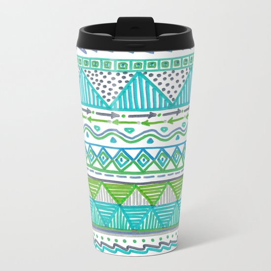 Ocean T Metal Travel Mug