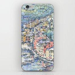 Portofino dal mare iPhone Skin