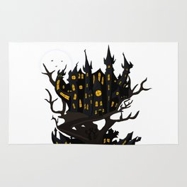 Haunted House Rug