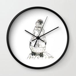 Pyjama Penguin Wall Clock