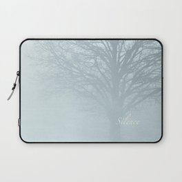 Tree / Winter Silence Laptop Sleeve