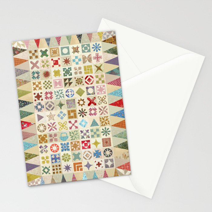 Jane's Addiction to Quilting Stationery Cards