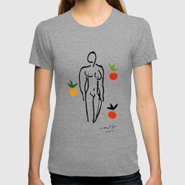 Matisse abstract woman drawing, abstract art, T-shirt
