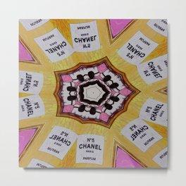 CC No.5 Perfume Kaleidoscope Metal Print