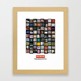 New York Said  Framed Art Print