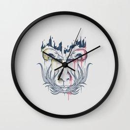 Illusion face Wall Clock