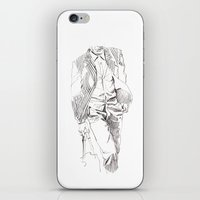 suit iPhone & iPod Skins featuring SUIT by leeem