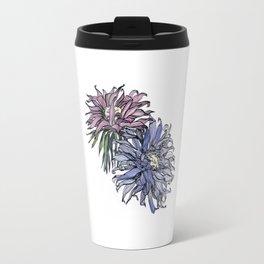 Chrysanthemum Flowers Travel Mug