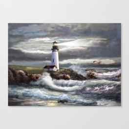 Beam of Hope Canvas Print