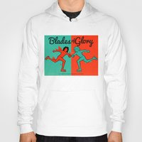 will ferrell Hoodies featuring Blades of Glory by Derek Eads