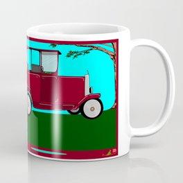 A Man and his Vintage Car Coffee Mug