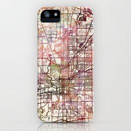 Indianapolis iPhone Case