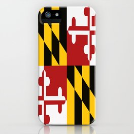 Maryland Colours iPhone Case