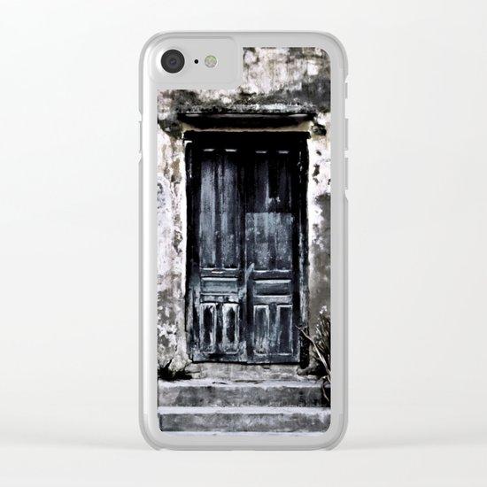 Vietnamese Facade Clear iPhone Case