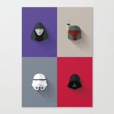 SW The Bad Guys - Minimalist Poster Canvas Print