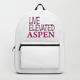 Live Elevated Aspen Colorado Backpack