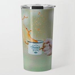 Spill the Coffee (Color) Travel Mug