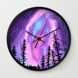 Star Goddess Wall Clock