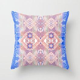 paisley river Throw Pillow