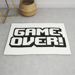 GAME OVER! Rug